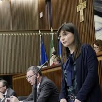 Serracchiani in consiglio regionale