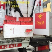 Contrabbando sigarette Tarvisio