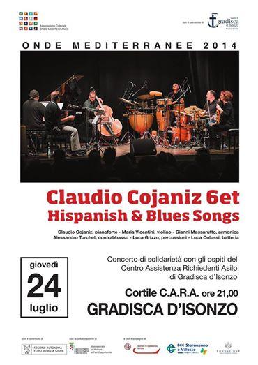 Claudio Cojaniz concerto