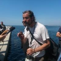 Dopo 80 giorni imprenditore Trieste scende da gru Porto