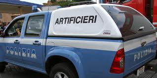 polizia artificieri
