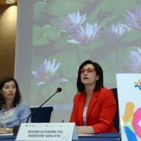 Sara Vito (Assessore regionale Ambiente ed Energia) al meeting internazionale sulla Pianificazione energetica - Udine 27/06/2014
