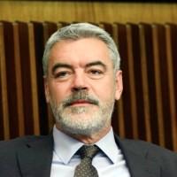 Paolo Panontin (Assessore regionale Autonomie locali e Coordinamento Riforme, Caccia e Risorse ittiche, delegato Protezione civile) durante i lavori del Consiglio regionale - Trieste 11/05/2015