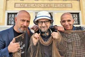 Udine, 22/09/2014 - Mercato del Pesce - Claudio de Maglio, Claudio Mezzelani, Massimo Somaglino - Foto Luca d'Agostino/Phocus Agency © 2014