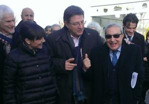 Serracchiani, Gherghetta e Bono