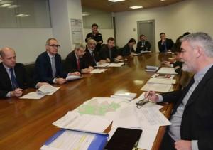 Paolo Panontin (Assessore regionale Autonomie locali e Coordinamento Riforme) all'incontro illustrativo dell'Unione Territoriale Intercomunale (UTI) del Friuli Centrale, nella sede della Regione FVG - Udine 07/03/2016