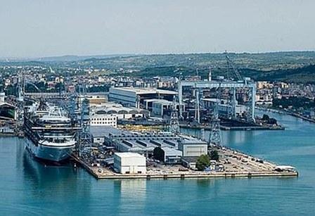 Porto di Monfalcone (Foto tratta da trasportando.com)