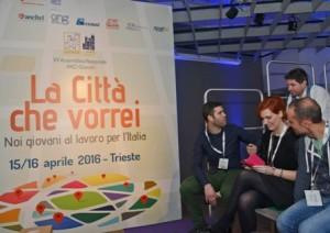 """Settima assemblea nazionale ANCI Giovani, sul tema """"La Città che vorrei"""", alla Stazione Marittima - Trieste 15/04/2016"""