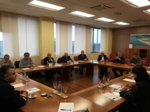 Mariagrazia Santoro (Assessore regionale Infrastrutture e Territorio) durante l'incontro presso l'Azienda Speciale per il Porto - - Monfalcone 14/04/2016