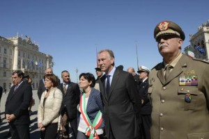 Grande Guerra: a Trieste corone per caduti Italia e Austria